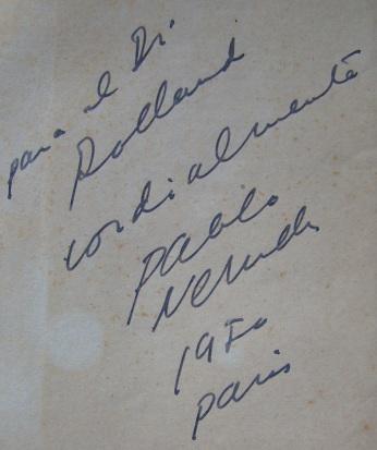 Pablo Neruda, 1950 - Canto general